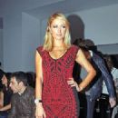 Paris Hilton: at Barcelona Fashion Week