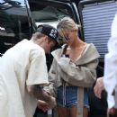 Hailey Baldwin and Justin Bieber – Arrive at Pastaio for lunch in Beverly Hills