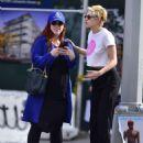 Kristen Stewart with friend out in New York City - 454 x 582