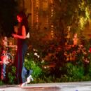 Kendall Jenner and Fai Khadra at the Bungalow in Santa Monica