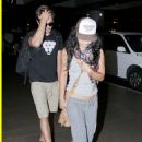 Zac And Vanessa Lovey Dover In LAX