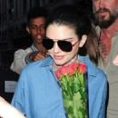 Kendall Jenner Arriving At Her Hotel In London