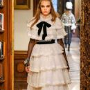 Cara Delevingne Walking For Chanel Pre Fall 2015