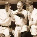 Lefty Gomez, Lou Gehrig & Jimmy Foxx