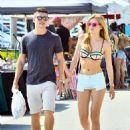 Bella Thorne in Bikini Top at Venice Beach - 454 x 638