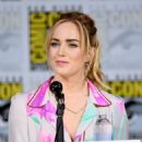Actor Caity Lotz at DC's