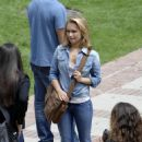 Hayden Panettiere - Set Of Heroes In LA, 2009-06-16