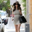 Nicole Trunfio Street Style Out and About In Sydney