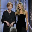 Carol Burnett and Jennifer Aniston At The 75th Golden Globe Awards (2018)