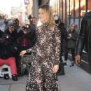 Taylor Schilling – Arriving at AOL Build in New York - 454 x 681