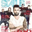 Maroon 5 - Status Magazine Cover [Philippines] (July 2012)