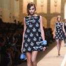 Cara Delevingne Fendi Ss 2015 Feshion Show In Milan