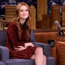 Zoey Deutch – 'The Tonight Show Starring Jimmy Fallon' in NYC - 454 x 737