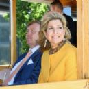 King Willem-Alexander and Queen Maxima of The Netherlands Visit New Zealand - 454 x 303