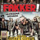 Five Finger Death Punch - Fakker! Magazine Cover [Czech Republic] (November 2015)