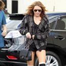 Miley Cyrus Drops By Panera, Still Single