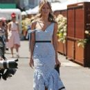Jennifer Hawkins– Celebrities Attend Oaks Day - 436 x 600