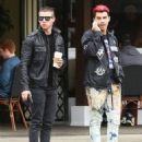 Nick Jonas spotted leaving Sweet Butter Kitchen in Sherman Oaks, California on March 11, 2016