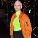 Rose McGowan – Outside The Bowery Hotel in NYC - 454 x 681