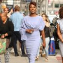 Issa Rae – Arriving at The Late Show with Stephen Colbert in NYC - 454 x 681