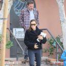 Jennifer Garner and Ben Affleck – Take Samuel to an appointment in Santa Monica
