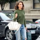 Katie Holmes – Shopping candids at Zac Posen in New York City