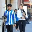 Sophie Turner and Joe Jonas Out with Their Dogs in New York 03/12/2019 - 454 x 681