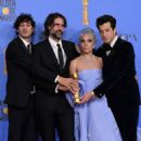 Mark Ronson, Anthony Rossomando, Lady Gaga and Andrew Wyatt At The 76th Golden Globe Awards (2019) - 454 x 454