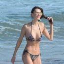 Julia Pereira in Bikini on the beach in Bahia - 454 x 680