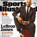LeBron James - Sports Illustrated Magazine Cover [United States] (7 December 2015)