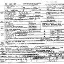 Death Certificate of Marvin Gaye