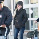 Lindsay Lohan – Arriving at JFK Airport in New York