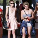 Agyness Deyn And Pixie Geldof At The Coachella Music Festival Day 1
