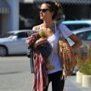 Alessandra Ambrosio: Brentwood Shopping Fun