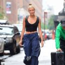 Hailey Baldwin and Justin Bieber – Leaves the Milk Studios in New York