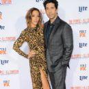 Actor David Schwimmer and wife Zoe Buckman arrive for Premiere Of