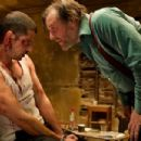 Melvil Poupaud as Loverboy and Ray Winstone as Colin Diamond in Image Entertainment '44 Inch Chest'