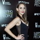 "Actress Alison Brie attends the Los Angeles premiere of IFC Films ""Sleeping with Other People"" presented by Dark Horse Wine on September 9, 2015 in Los Angeles, California"