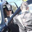 Matt Damon-December 8, 2015-Matt and Luciana Damon Go To Lunch After Their Workout