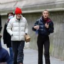 Lily-Rose Depp – Shopping candids in Paris - 454 x 566