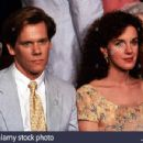 Kevin Bacon and Elizabeth Perkins