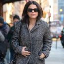Vanessa Ferlito is spotted out for a stroll in New York City, New York on January 8, 2015 - 424 x 594