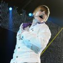 Justin Bieber performs at Sun National Bank Center on June 24, 2010 in Trenton, New Jersey.