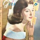 Pier Angeli - Geino Gaho Magazine Pictorial [Japan] (April 1954) - 454 x 657