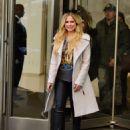 Avril Lavigne and Phillip Sarofim – Leaving SiriusXM Radio in New York City - 454 x 591