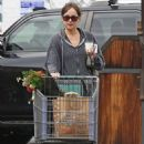 Dakota Johnson – Leaving a grocery market in Los Angeles