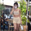 Chantel Jeffries – In Sports bra shows off her incredible figure in Los Angeles