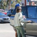 Kaia Gerber and Jacob Elordi – Seen outside Earth Bar in West Hollywood