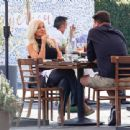 Donna D'Errico – Seen on a lunch at Mauro Cafe in West Hollywood