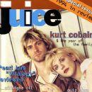Kurt Cobain, Courtney Love - Juice Magazine Cover [Australia] (January 1994)